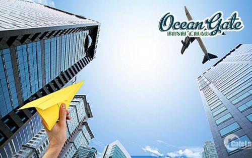 Đất nền mặt tiền biển 1,2 tỷ/nền – Ocean Gate Bình Châu: Gần sân bay Lộc An - Trung tâm resort Hồ Tràm – Bình Châu