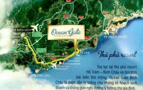 Đất nền ven biển Bình Châu Hồ Tràm cách biển 100m