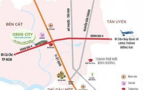 Biệt thự sinh thái gần ĐH Việt Đức. mặt tiền vành đai 4