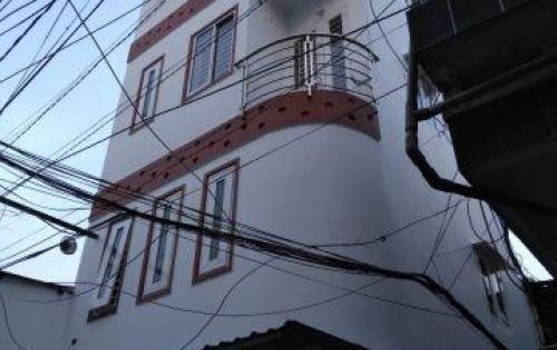 Nhà mới thiết kế đẹp HXT Nguyễn Văn Đậu, P11, Q. Bình Thạnh (hình thật 100%) ++ dt 4x6m, 1 trệt 3 lầu, sân thượng. Có sân để xe. Lối kiến trúc hiện đại,  3 TỶ