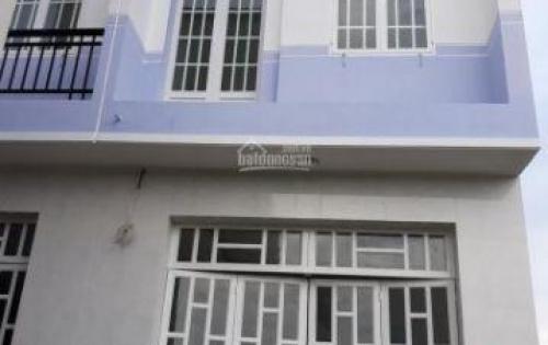 Bán nhà mới xây 1 trệt,1 lầu khu dân cư Tân Kim,QL 50.Sổ hồng riêng