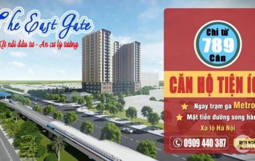 Căn Hộ The East Gate, căn hộ đối diện Bến xe miền Đông mới, Liên hệ: 0909.440.387