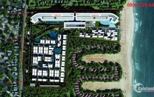 Căn hộ và biệt thự nghỉ dưỡng Malibu Hội An mặt tiền biển Hà My,sở hữu lâu dài