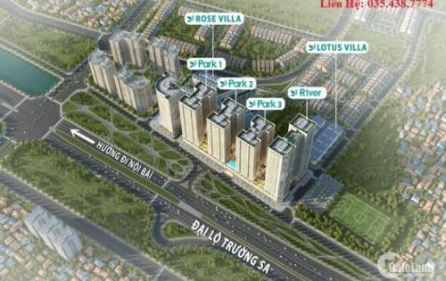 Chỉ 1,3 tỷ sở hữu căn hộ cao cấp 78m2 dự án Eurowindow River Park. LH: 0354387774