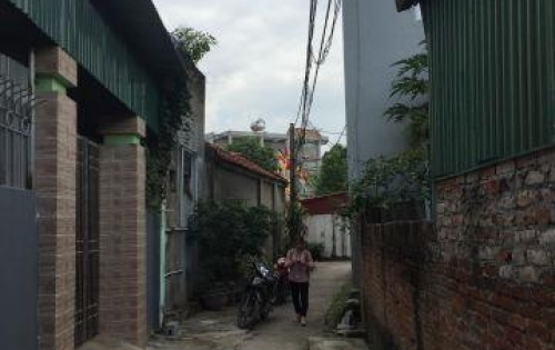 Đất trung tâm thị trấn Trâu Qùy, Gia Lâm, HN giá chỉ 1,3 tỷ.
