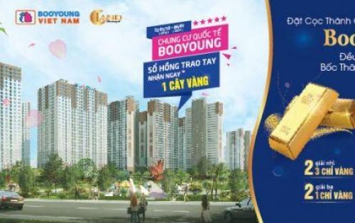 Bán căn hộ 73.31m2 CHCC Booyoung Mỗ Lao full nội thất cửa đông nam
