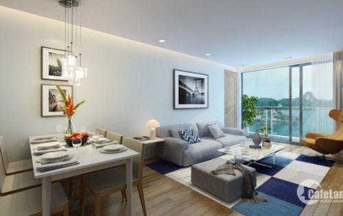 Bán căn hộ tại Hạ Long, tầng 20 view vịnh, đóng 580 triệu được nhận nhà, sổ đỏ vĩnh viễn