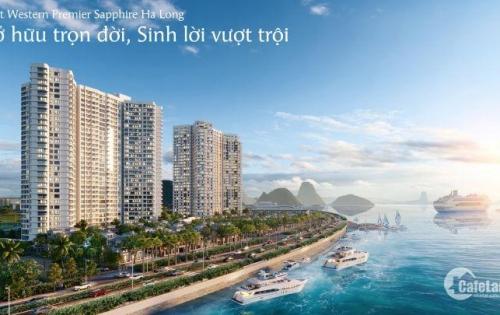 Bán căn hộ khách sạn S2 The Sapphire Hạ Long Căn Studio View trực diện biển, T12-39.5m2,giá gốc CĐT