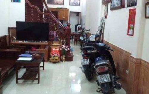 Bán nhà tại Lạc Trung, MT 5m, ô tô đỗ cửa, giá 4,35 tỷ