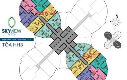 Đăng ký suất ngoại giao tòa Sky View Plaza - nằm trong khuôn viên 360 Giải Phóng - LH: 094 321 6686