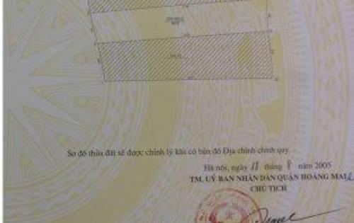 Bán Nhà Mặt Phố Nguyễn Chính Quận Hoàng Mai S=86m2 Giá 6,6 tỷ