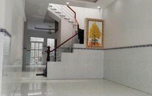 Nhà mới xây 1 trệt 1 lầu SHR mặt tiền đường Nguyễn Văn Khạ. Giá chỉ 875triệu.