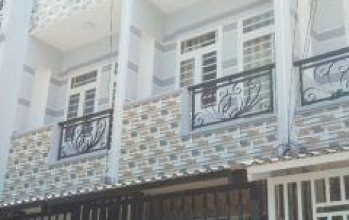 Nhà mới hẻm xe hơi Huỳnh Tấn Phát, Nhà Bè. DT 3,2m x 15m, sử dụng 130m2, 1 trệt 2 lầu, 4 phòng ngủ 3wc