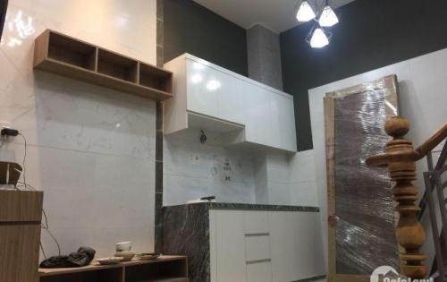 Nhà trệt 2 lầu, Lê Văn Lương xã nhơn đức H.Nhà Bè, đẹp và kiên cố nhà mới ở ngay