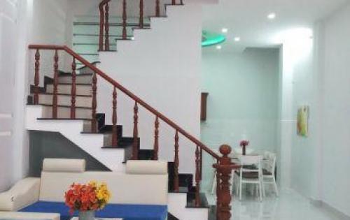 Bán nhà 2 lầu mới đẹp hẻm 1806 Huỳnh Tấn Phát Nhà Bè.