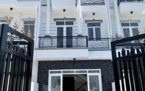 Bán nhà hẻm 1806 Huỳnh Tấn Phát, Nhà Bè, Tp.HCM. DT 5.1 x 23m, Nhà mới hoàn thiện, tặng nội thất
