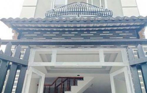 Bán nhà 1 lầu mới đẹp nở hậu 5.5m hẻm 1917 Huỳnh Tấn Phát Nhà Bè.