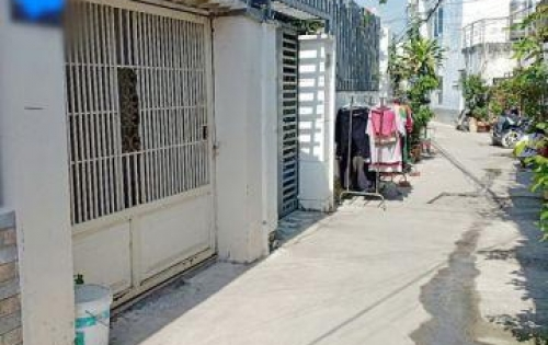 Bán nhà trệt mới đẹp hẻm 38 Đặng Nhữ Lâm Nhà Bè (Kho B).