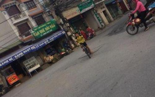 Đất kinh doanh 56m2 đường 8m Thạch Bàn, Long Biên.