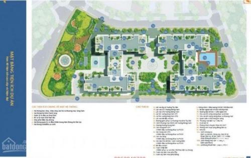 Bán căn hộ 2PN, 59m2 Hà Nội HomeLand rẻ nhất thị trường