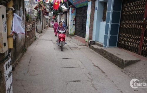 Đất 75m2 Tư Đình, Long Biên mặt đường kinh doanh giá 3,12 tỷ.