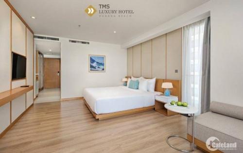"""Nằm sát bãi biển Mỹ Khê, sở hữu vị trí """"vàng"""" giữa trung tâm thành phố biển Đà Nẵng, được đánh giá là dự án khách sạn sang trọng bậc nhất, TMS Luxury Hotel Da N"""