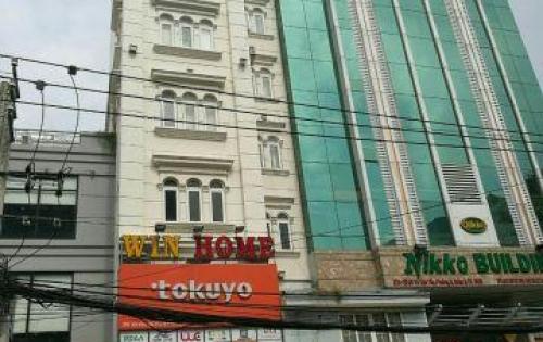 Bán gấp tòa nhà mặt phố Trần Hưng Đạo, ngay đoạn khu phố Tây, P Nguyễn Cư Trinh, Q 1, giá rẻ 36 tỷ