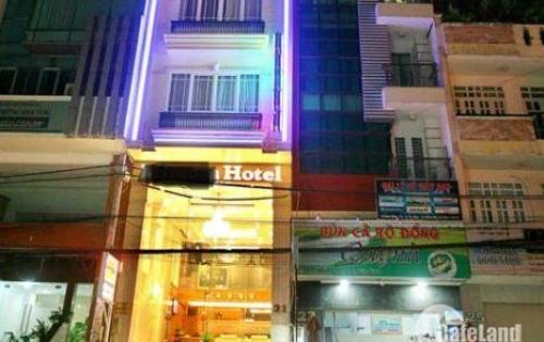 Chính chủ cần bán nhanh khách sạn Bùi Thị Xuân, Q.1, 10 lầu, HĐ Thuê 12.000$, giá 76 Tỷ