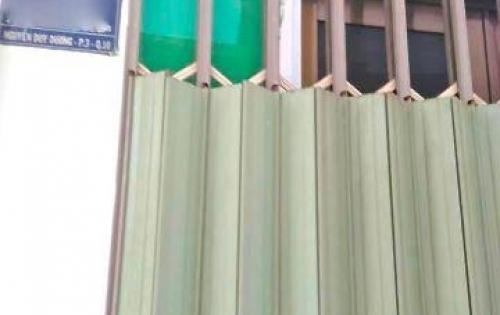 Nhà giá rẻ: 1,55 tỷ, HXH Nguyễn Duy Dương, Q.10, 2,5x4m, 3 tầng.