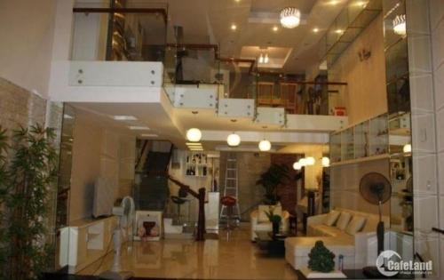 Bán nhà mặt tiền Cách Mạng Tháng 8, Quận 10, DT 4x24m vuông vức, 6 lầu, giá 26 tỷ