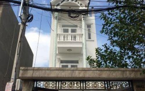 Bán nhà trệt 3 lầu (4x23)m giá 4.2 tỷ.  Đường  6m thông Hiệp Thành 17, P.HT , Q12