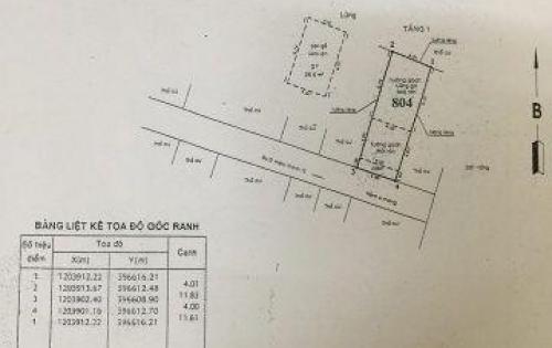 Nhà 1T1L Sổ Riêng ngay chợ Hiệp Thành 4x12m giá 2,35 tỷ
