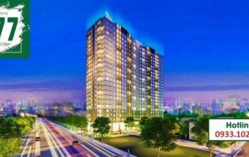 CHCC chỉ có 930 triệu / căn 52m2-Ngay cầu Phú Long.