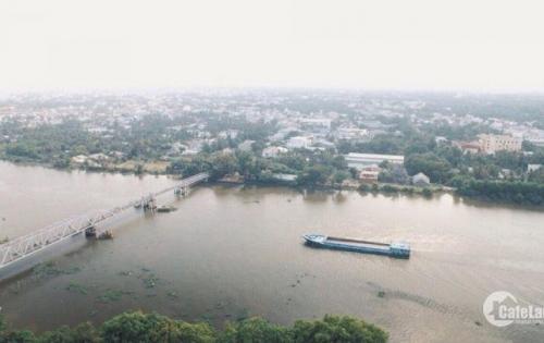 Kẹt Tiền Bán Gấp Căn Hộ Quận 12, Ngay Cầu Phú long, Mặt Tiền Sông Sài Gòn, giá 740 triệu