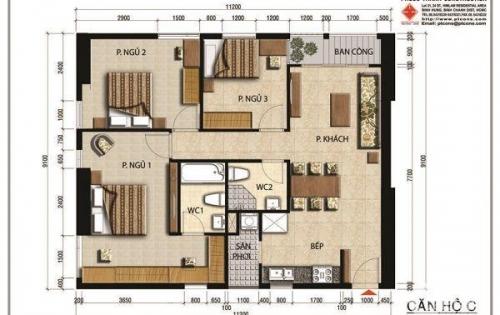 Căn hộ cao cấp Quận 2, mặt tiền đường Mai Chí Thọ giá chỉ từ 2.450tỷ căn 64m2, 3.17tỷ căn c, 3.470tỷ căn 97m2