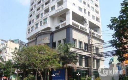 Bán Tòa nhà 520 cách mạng tháng tám, quận 3, DT: 12x26m, Hầm 8 lầu, hđ 400tr/th, 100 tỷ
