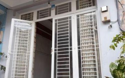Bán nhà 1 lầu mặt tiền hẻm 1247 Huỳnh Tấn Phát quận 7.