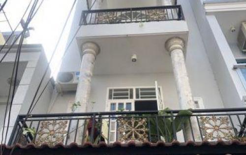 Bán nhà 2 lầu mới đẹp hẻm xe hơi 803 Huỳnh Tấn Phát quận 7.