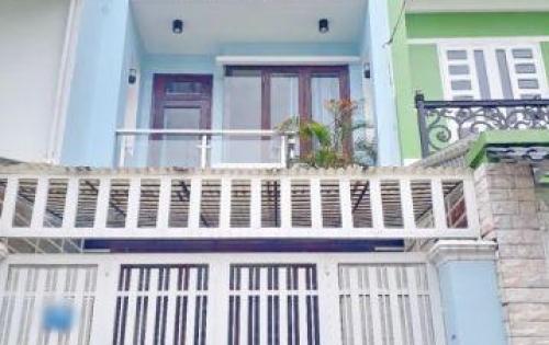 Bán nhanh nhà 2 lầu mặt tiền đường số phường Tân Quy, quận 7.