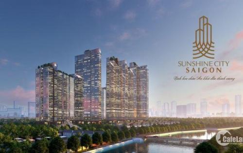 Sunshine City Sài Gòn căn hộ dát vàng , phủ kính Low-e 3 lớp . Vận hành công nghệ 4.0 hiện đại . Giá chỉ từ 50-55tr/m2