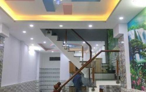 Bán nhà 1 lầu mới đẹp mặt tiền hẻm 487 Huỳnh Tấn Phát quận 7 (gần KDC Nam Long).