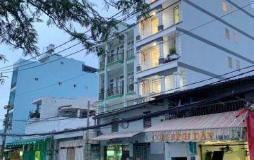 Bán khách sạn 3 lầu (nở hậu) mặt tiền Bùi Văn Ba Tân Thuận Đông Quận 7