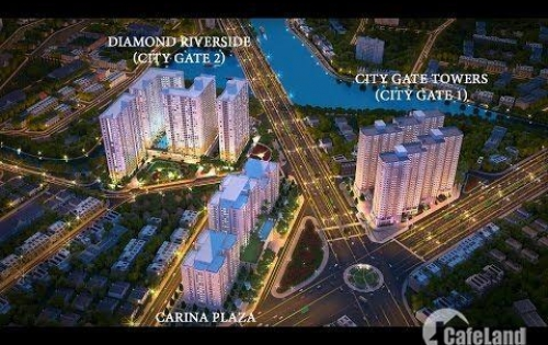 Chủ đầu tư thanh lý 15 căn 2-3PN City Gate2 do khách hàng hết khả năng thanh toán. LH 0901 636 577