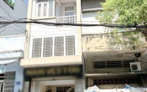 Bán nhà 2 lầu mặt tiền kinh doanh đường Bùi Điền Phường 4 Quận 8