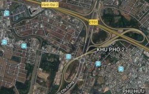 Cần bán lô đất ngay vòng xoay Phú Hữu , P. Phú Hữu, Quận 9