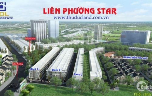 Bán nhà phố liền kề dự án Liên Phường Star, Phú Hữu, Q9 nằm ở vị trí chiến lược, giá trị đầu tư cao