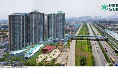 Căn hộ Singapore Metro Star Q. 9 mặt tiền Xa Lộ HN, đối diện trạm ga Metro số 10 giá chỉ 1.8 tỷ/căn