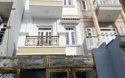 Nhà 3.5 tấm 4x20m, hẻm 8m thông 759 Hương Lộ 2- B.Tân