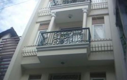 Bán gấp nhà mặt tiền 4 lầu, 4x17m, đường số 8, P. BHH B, Quận Bình Tân