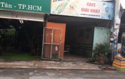 Bán nhà cấp 4, vị trí đẹp, MT đường lớn, tiện kinh doanh, Q. Bình Tân